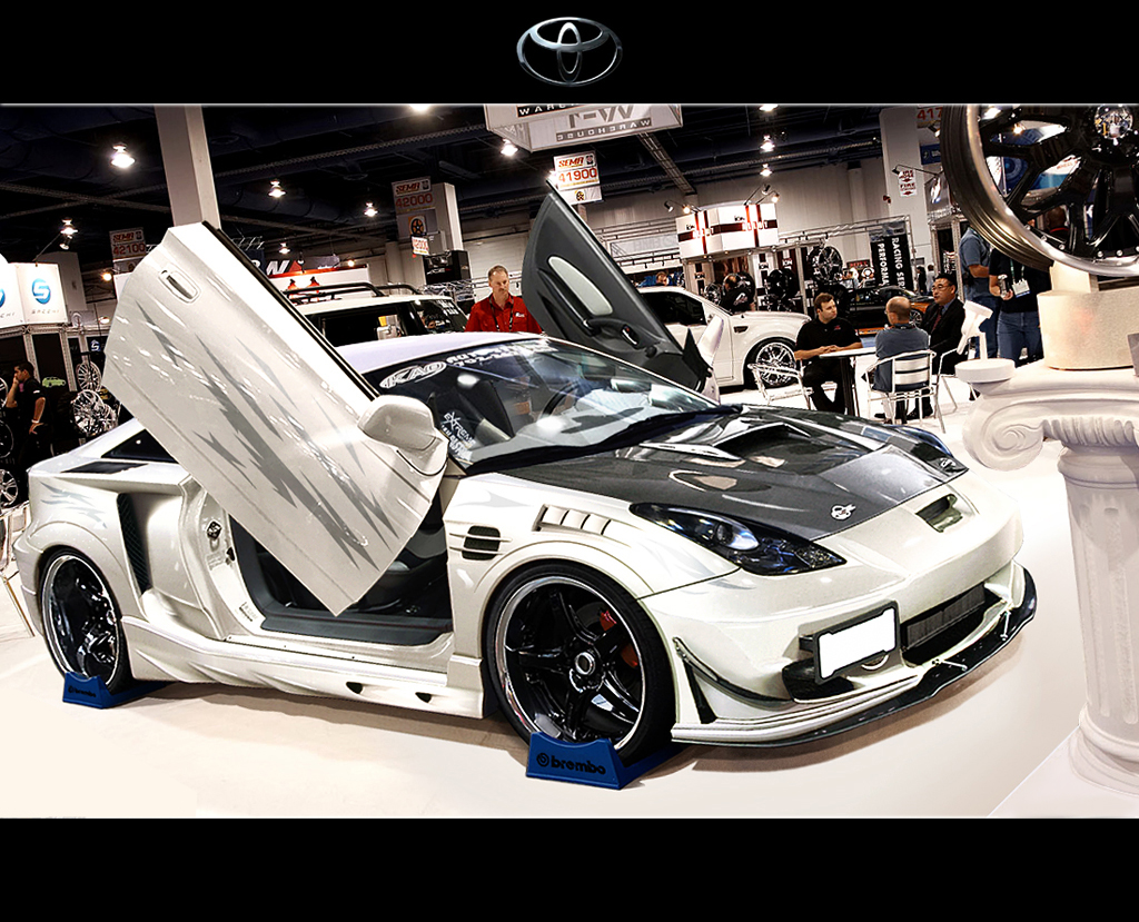 tuned toyota celica matte black pinterest toyota. Black Bedroom Furniture Sets. Home Design Ideas